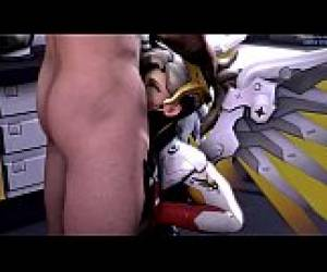 Overwatch -  A Mouthful Mercy