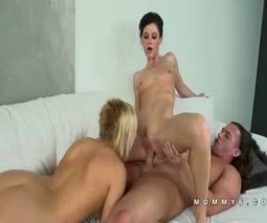 Mommy6 India Summer Milf Brunette White Teen Threesome HD Region Part 4
